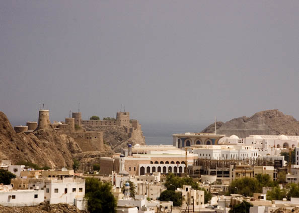 Арабский город Маскат